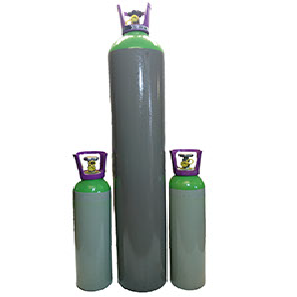 mix gas bottles-u387270